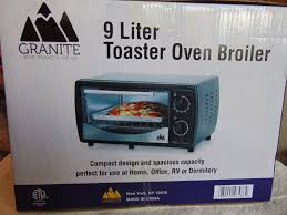 Cuisinart Compact Toaster Oven Broiler Granite 9 Liter Toaster Oven Broiler Great For College Dorm Or