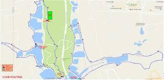 Map My Route Running by Mitrajaya Charity Run 2017