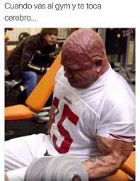 Memes Gym - dopl3r com memes cuando vas al gym y te toca cerebro