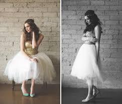 20 non traditional tea length wedding dresses brit co