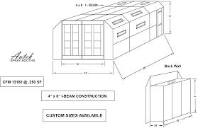 Spray Booth Ventilation System Autek Spray Booths Autek