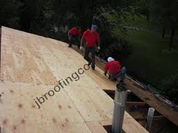 roof decking replacement by jb roofing illinois roofing