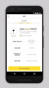 California Pizza Kitchen Rewards by Cpk Pizza Dough Android Apps On Google Play