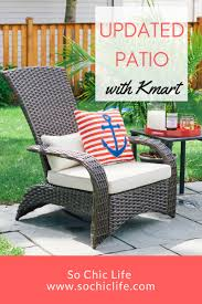 Kmart Patio Furniture Sale by Update Patio With Kmart So Chic Life
