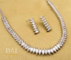 jewellery necklace earring sets images Cubic zirconia swarovski elements designer necklace earring set jpg
