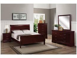 1930 Bedroom Furniture Bernards Bedroom Chablis Louis Philippe Bed 1930