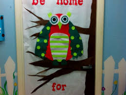 office 21 office door christmas decorating ideas winter door