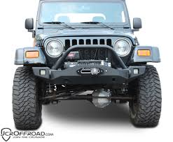 jeep prerunner bumper wrangler front bumper crusader mid width jeep tj lj yj cj7 76