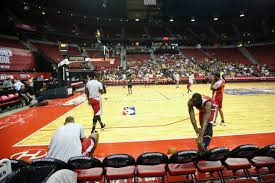 nba summer league day 1 clippers a in side of lakers