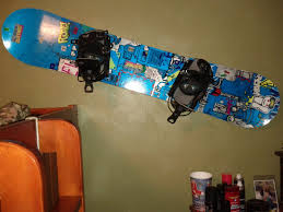 the awesome and gorgeous snowboard wall mount intended for your