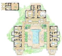 house plans with courtyard best 25 courtyard house plans ideas on courtyard