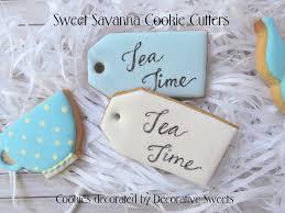 tea bag cookies tea bag cookie cutter cookies pinterest
