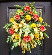 handmade spring wreath ideas to decorate your front door best