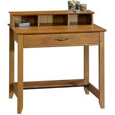 Walmart Mainstays Computer Desk Mainstays Cardinal Hill Writing Desk Hazelwood Walmart Com