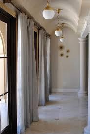 Hallway Pendant Lighting Hallway Barrel Ceiling With Brass Pendant Lights Transitional