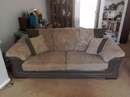 3 piece dfs suite includes 3 person sofa deep comfy arm chair