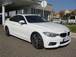 bmw 420d 2016 bmw 420d coupe m sport auto white with leather