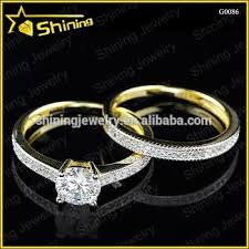 wedding rings malaysia hot selling 14k gold plated wedding diamond rings ring