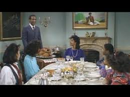 the cosby show theo carves the turkey favorite classic