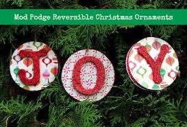 mod podge reversible ornaments mod podge rocks