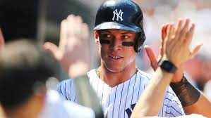 Aaron Judge Breaks Mlb Rookie Record With 50th Home Run Rolling Stone - yankees rookie aaron judge breaks home run records rolling stone