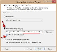 install windows 10 esxi 5 5 install vmware vsphere 5 5 on windows 7 and 8 using vmware workstation