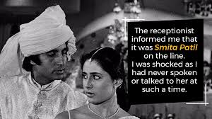 biography of movie coolie a night before the coolie accident smita patil called amitabh