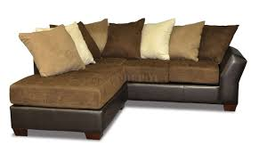 Leather Pillows For Sofa by Back Modern Sectional Sofa W Oversized Back Pillows