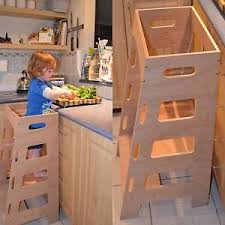 Toddler Stool For Kitchen by Kitchen Helper Tower Montessori Toddler Stool Step Learning