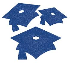 blue graduation cap creative converting 12 count glitter graduation cap