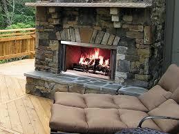 Outdoor Fireplace Insert - outdoor fireplaces energysavers