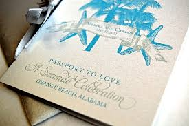 passport invitations with ribbon archives lepenn designs