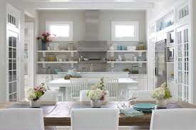 kitchens blue grey paint color design ideas