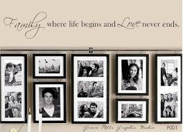 Home Wall Display 17 Family Photo Wall Ideas You Can Try To Apply In Your Home