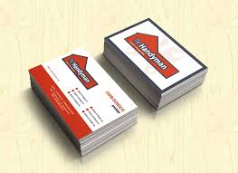 handyman business card free psd business card templates