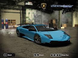 Lamborghini Murcielago Back - need for speed most wanted lamborghini murcielago lp670 4 sv nfscars