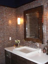 Powder Bathroom Design Ideas Bathroom Extraordinary Bathroom Design Ideas Using White Mosaic