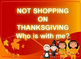 not shopping on thanksgiving pictures photos and images for