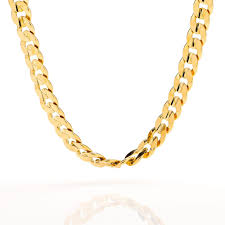 curb link necklace images Gold chain necklace 9mm cuban curb link gold filled mens jewelry jpg