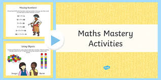 1 maths mastery number bonds activities powerpoint