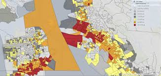 Oakland Ca Map Maps The Poorest Areas In America Are Often The Most Polluted