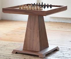 Chess Table Contemporary Chess Table Residential Volta William Yeoward