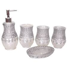 Silver Bathroom Accessories Sets by 123 Best Home Decor Bathroom Vanity Accessories Images On