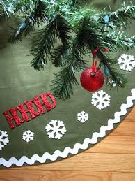 sew many ways tool time tuesday no sew tree skirt for 2 50