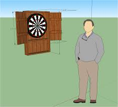 Dart Board Cabinet Plans 6th Sketchup Assignment Pallet Project Mr Drew U0027s Blog