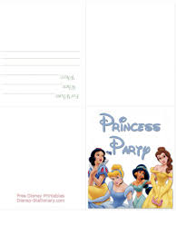 100 disney princess invitations templates personalised boys