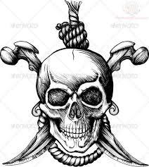 best 25 pirate skull tattoos ideas on pinterest pirate skull