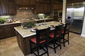 New Kitchen Dark Cabinets Pueblosinfronterasus - Kitchen decorating ideas with dark cabinets