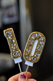 cool birthday candles birthday candle ideas bling cake decoration