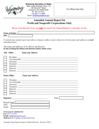 free annual report template non profit forms fillable